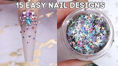 Sassy Nails, Cute Nails, Simple Nail Designs, Nail Art Designs, Engagement Nails, Dark Pink Nails, Nails Design With Rhinestones, Holiday Nail Art, Sparkle Nails