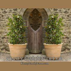 Carema Extra Large Outdoor Planters Set | Kinsey Garden Decor