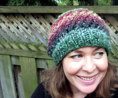 This knit spin cycle hat is a quick and easy project to work up for #ILoveYarnDay! This pattern is easy to follow so make a hat, today.