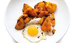 Nigel spiced squash fried egg