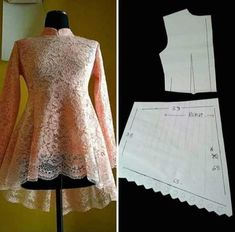 The Princess (Seam) Diaries: Turn Bodice Darts Into Princess Seams Frock Patterns, Designer Blouse Patterns, Dress Sewing Patterns, Sewing Patterns Free, Blouse Designs, Clothing Patterns, Blouse Styles, Free Sewing, Sewing Tutorials