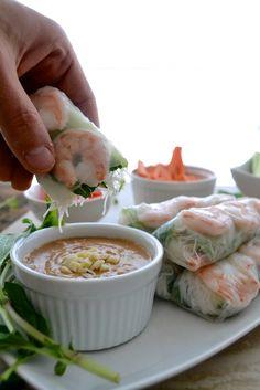 5 Ingredient Easy Peanut Sauce - The Fresh Find Shrimp Recipes, Veggie Recipes, Fish Recipes, Asian Recipes, Whole Food Recipes, Keto Recipes, Healthy Recipes, Ethnic Recipes, Easy Peanut Sauce