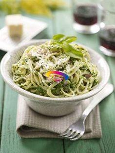 Spaghetti con spinaci e pancetta   Cucinare Meglio