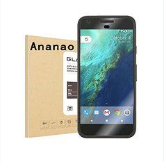 #ananao- Google Pixel Screen Protector [Case Friendly] MilitaryShield Anti-Bubble HD Clear Screen Protector for Google Pixel