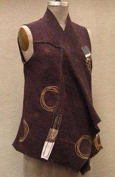 B&W Ghana Top in Silk Noil | Holly Badgley Design