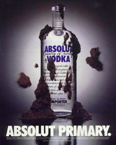 Political ad. | The Best Of The Great Absolut Ads | early ad