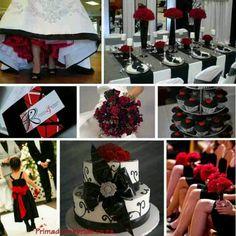Black and Red Weddings | Pinterest | Red wedding, Weddings and Wedding