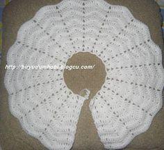 crochet bayb gardigan,crochet baby jacket,croche bebe hand crocheted jacket,croc… I wanted to make this beautiful baby cardigan wandering the net. Col Crochet, Crochet Baby Cardigan, Baby Girl Crochet, Crochet Jacket, Newborn Crochet, Crochet Beanie, Crochet For Kids, Hand Crochet, Crochet Hats