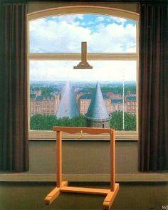 """""""La Condition humaine"""" - René Magritte, 1933"""