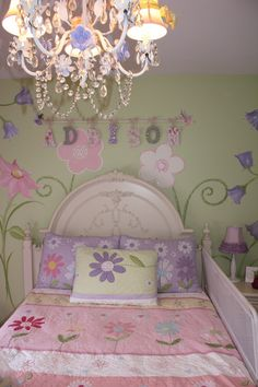 Addison's Flower and Fairy Garden @Artistic Mural Works and more by Patrice
