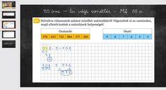 Matek 3. osztály - Év végi ismétlés 4. rész VIDEÓ - Kalauzoló - Online tanulás Bullet Journal