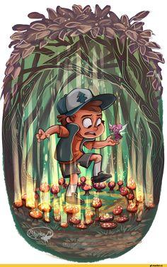 Dipper Pines,GF Персонажи,Gravity Falls,фэндомы,GF art