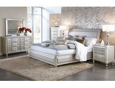 Lavish Fireplace Designs That Are Worth Seeing . Lavish Fireplace Designs That Are Worth Seeing Hefner Silver King Bedroom Group Badcock More My Furniture Ikea Bedroom, Home Bedroom, Modern Bedroom, Bedroom Kids, Contemporary Bedroom, Master Bedroom, Modern Bedding, King Bedroom Sets, Queen Bedroom