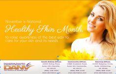 Never underestimate the importance of healthy skin. #dermatologistcentreville #healthyskin
