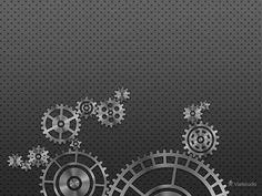Gear Wheel Wallpaper · Desktop wallpapers · Vladstudio