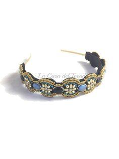Diademas para un #look especial www.lacasadeltocado.net #diademas #materialesparatocados #accesorios #diy