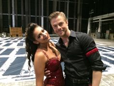 @BethanyMota and #DWTS partner @derekhough backstage with SoCalLife Monday night, kicking it despite that bad ankle! pic.twitter.com/NXB0dOXRrO