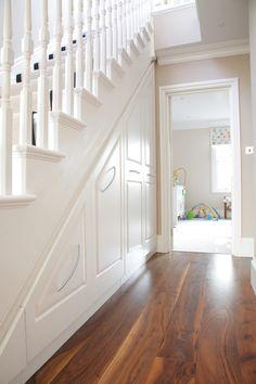 Traditional under stairs storage unit #2 - JOAT London Bespoke Furniture Company