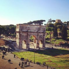Arco di Costantino in Roma, Lazio Arch of Constantine