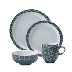Denby Azure Shell Dinnerware Collection - BedBathandBeyond.com