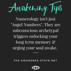 Numerology is much more than Angel Numbers telling you how you are on the correct path, it works like a subconscious jungian trigger. So when we have repeated synchronicities appearing it means something is literally shifting within the mind. The...