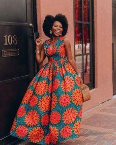Ankara Dress African Clothing African Dress African Print Dress African Fashion Women's Clothing African Fabric Short Dress Summer Dress Ankara-Kleid afrikanische Kleidung afrikanisches Kleid afrikanischer Druck African Maxi Dresses, Ankara Dress, African Attire, African Wear, African Skirt, African Style, Ankara Gowns, African Outfits, African Clothes