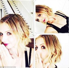 'Time for a change!': Sarah Michelle Gellar unveiled a sassy hairdo via her Instagram account on Saturday