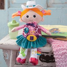 Cowgirls' gotta stick together! Cowgirl Carly Activity Doll  http://www.rods.com/cowgirl-carly-activity-doll.html