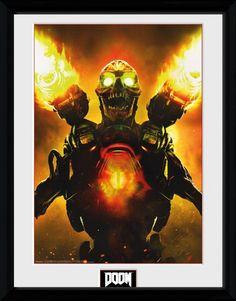 Doom Key Art Collector Print