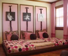 Girls room on pinterest tree book shelves shared rooms - Beautiful girls bedroom furniture ...