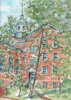 Washington College, In historic Chestertown, MD. Liberal Arts College, Colleges, Maryland, City Photo, Washington, Joy, Paintings, Spaces, School