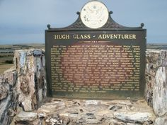 Hugh Glass historical marker overlooking ShadeHill Reservoir. Hugh Glass, Cool Pictures, Cool Photos, The Revenant, Mountain Man, Old West, Man Photo, South Dakota, Historical Photos