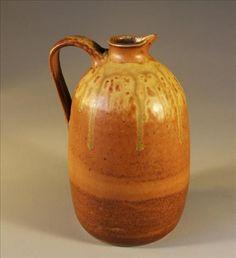 Stoneware pitcher.  www.nitaclaise.com