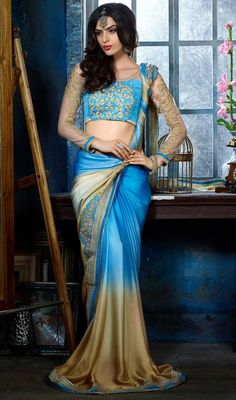 Sarees Online: Shop the latest Indian Sarees at the best price online shopping. From classic to contemporary, daily wear to party wear saree, Cbazaar has saree for every occasion. Latest Indian Saree, Indian Sarees Online, Latest Sarees, Fancy Sarees, Party Wear Sarees, Georgette Sarees, Lehenga Choli, Silk Sarees, Indische Sarees