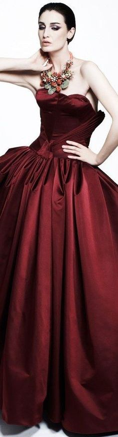 Pantone Red, Pantone Color, Bordeaux, Red Pear, Luxury Lifestyle Fashion, Burgundy Wine, Red Wine, Fashion Colours, Evening Gowns