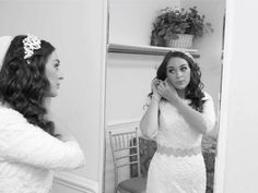 #MirrorMonday ✨Mirror, mirror on the wall, who has the most beautiful hair of them all?? This #blushingbride does! ✨ Hair by #WeddingHairbySorahYaffa​ | Book an appointment today and see your #hairdreamscometrue ✨