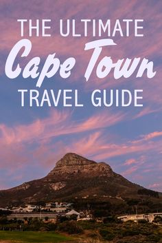 On my first trip to the continent of Africa, I was lucky enough to spend about a week exploring the wonders of Cape Town. It truly has stunning natural landscapes, delicious and diverse cuisines and so many activities for all ages. Check out all of my tip Africa Destinations, Travel Destinations, Travel Guides, Travel Tips, Travel Hacks, Travel Packing, To Infinity And Beyond, Africa Travel, Travel Goals