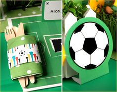 Soccer party free printables