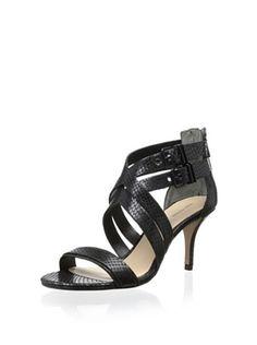 1d3000b429 Pour La Victoire Women s Que Dress Sandal (Black)