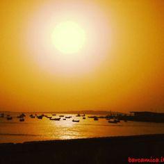 sunset, tramonto