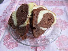 Mijn mixed kitchen: Yumusak kakaolu vanilyali (mermer) kek (superzacht...