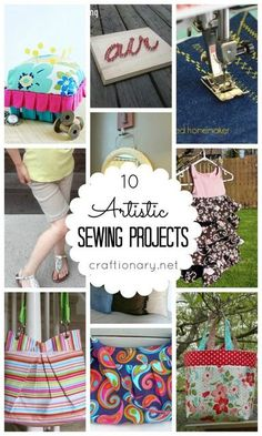 Artistic Sewing Projects