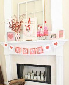 30 Eğlenceli Pembe Sevgililer Günü Dekorları