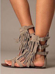 High Heel Sandals Fringe Tassel Ankle Strap Triple Layer Open Toe Women/'s Shoes