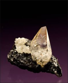 Calcite with Barite - $1750 Elmwood Mine, Smith Co., Tennessee, USA 7.1 x 5.7 cm