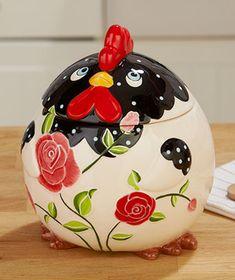 mother henny cookie jar