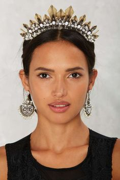 Crown for Whatever Spiked Headband - Hair + Hats   Back In Stock   Best Sellers   Back In Stock   All Party