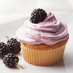 Blackberry frosting