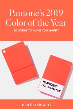 90df7ff87752 Pantone s 2019 Color of the Year Is Going to Make You Happy