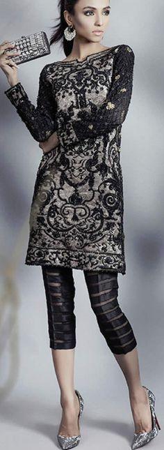 Sana Safinaz Charming Luxury Formal Wear Collection 2016 SanaSafinaz #DesignerDresses #GirlsDresses
